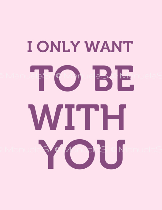 Love_I_only_want_print_ManuelaS_Free_Download