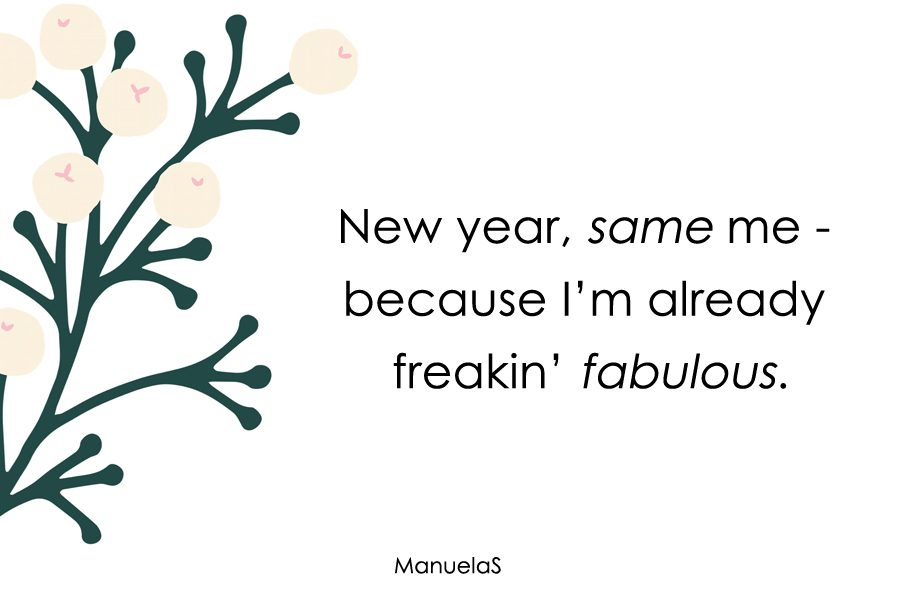 New Year, New ME??